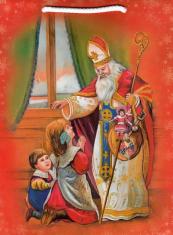 Darčeková taška (DTZ007) Sv. Mikuláš - malá