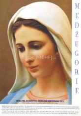 Obrázok: Panna Mária, Medžugorie (A5) - s modlitbou
