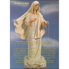 Obrázok: Panna Mária - s modlitbou, A5