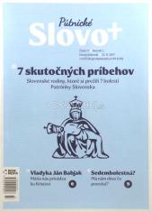 Časopis: Slovo+ 17/2017 - Kresťanské noviny, dvojtýždenník