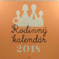 Rodinný kalendár 2018 (nástenný) / SSV