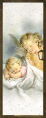 Záložka: Anjel strážny (ZAZ004) - zlátená