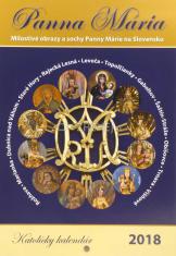 Katolícky kalendár 2018 (nástenný) Panna Mária