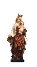 Soška: Panna Mária Škapuliarská - 14 cm (PB9619)