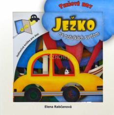 Ježko na potulkách svetom - Interaktívna knižka, ktorou trénujete pozornosť detí a podporujete ich predstavivosť