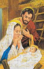 Puzzle: Sv. rodina I. (PU14) - 40 dielov
