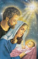 Puzzle: Sv. rodina II. (PU013) - 40 dielov