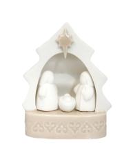 Betlehem: Sv. rodina - porcelánová, svietiaca (2945)