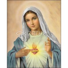Obraz na dreve: Srdce Panny Márie (40x30) (Z)
