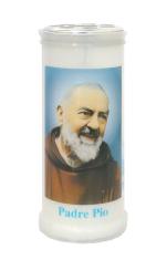 Kahanec: plastový s obrázkom Sv. Páter Pio - 15 cm