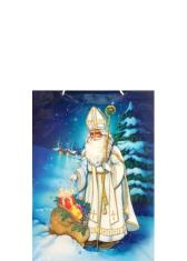 Darčeková taška (T5) Sv. Mikuláš - malá