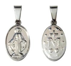 Medailón: Zázračná medaila (M01) - chirurgická oceľ, obojstranný