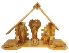 Betlehem: drevený (BZ002)