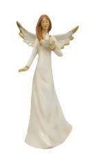 Anjel porcelánový - 20 cm (X1105)