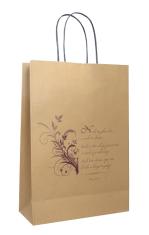 Papierová taška - Nech ťa žehná Pán... (veľká)