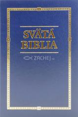 Svätá Biblia - Roháček, rodinný formát - modrá