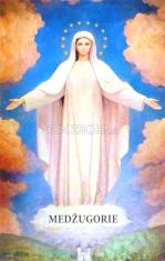 Obrázok: Medžugorie (407/234) - Sen Panny Márie, laminovaný