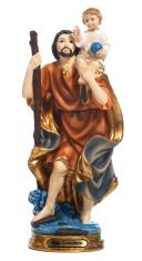 Socha: Svätý Krištof - 31 cm (PB15697)