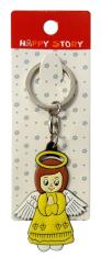 Kľúčenka gum. (KC040) - žltá