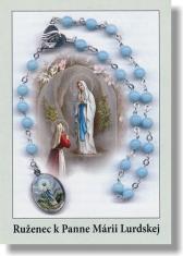 Obrázok: Ruženec k Panne Márii Lurdskej