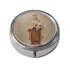 Krabička: na ruženec, kovová (KRZ004PMŠ) - Panna Mária Šaštínska