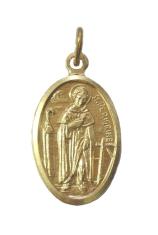 Medailón (MEZ005) zlatý - sv. Peregrín