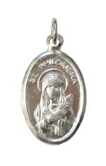Medailón: sv. Filoména (MEZ004s)