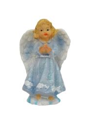 Anjel so zloženými rukami - modrý (5505)