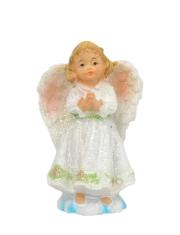 Anjel: zložené ruky - biely (5504)