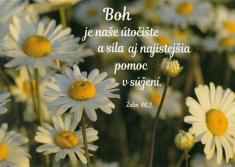 Pohľadnica: Boh je naše útočište...