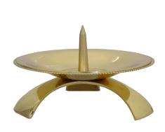 Svietnik: kovový - zlatý (CA1053C)