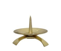 Svietnik: kovový - zlatý (CA1053A)