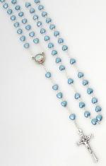 Ruženec: srdiečkový - modrý (470)