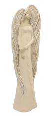 Anjel sadrový, krémový - 41 cm (122 new)