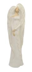 Anjel sadrový (122) new - biely