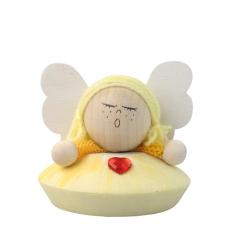 Anjel drevený - žltý (ADZ006)
