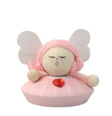 Anjel drevený - ružový (ADZ006)