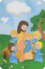 Magnetka: Pán Ježiš s deťmi (17/02Mag43)