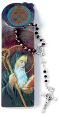 Ruženec (RL640-CONF) so záložkou sv. Benedikta