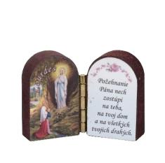 Oltárik: Panna Mária Lurdská (3CM-01)