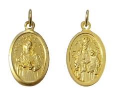 Medailón: Panna Mária Karmelská (MEZ005z)