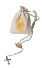 Ruženec: s vrecúškom (2339/K96) - s medailónom Ducha Svätého