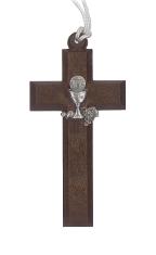 Prívesok:  Krížik s kalichom (716/29s) - na šnúrke