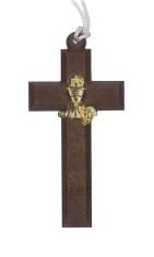 Prívesok: Krížik s kalichom (716/28z) - na šnúrke