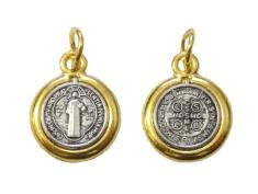 Medailón - sv. Benedikt (S235žl.)