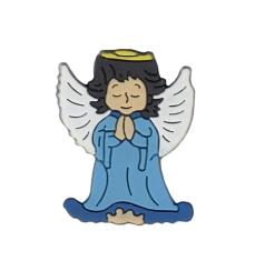 Magnetka: Anjel modrý, gumená (KC043B)