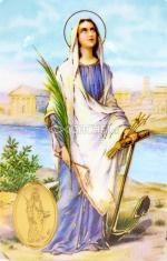 Kartička: Sv. Filoména (RCC 149 SK) - s modlitbou, plastová