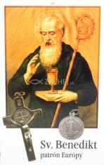 Obrázok: Sv. Benedikt (273/178) - Modlitba za oslobodenie, laminovaný