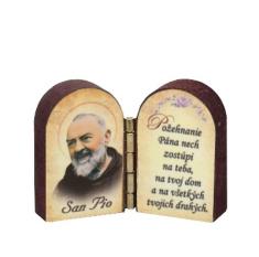 Oltárik: Sv. Páter Pio (3CM-14)