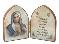 Oltárik: Srdce Panny Márie (7,5CM-08)